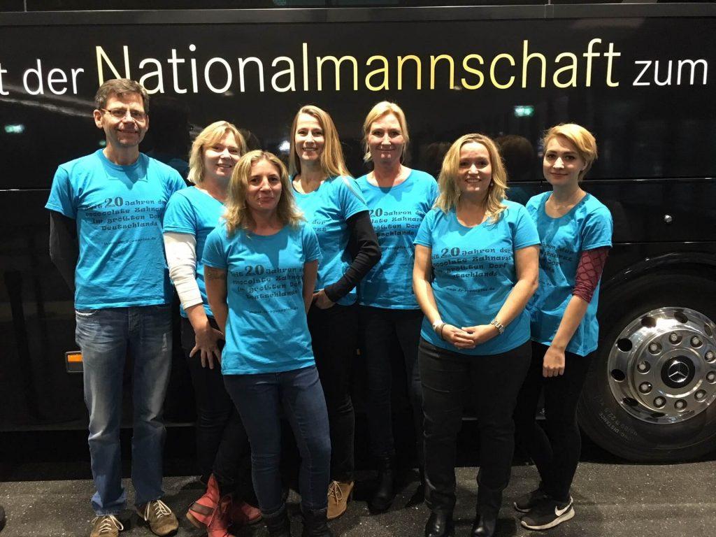 Team Dr. Roenspies im Deutschen Fußballmuseum